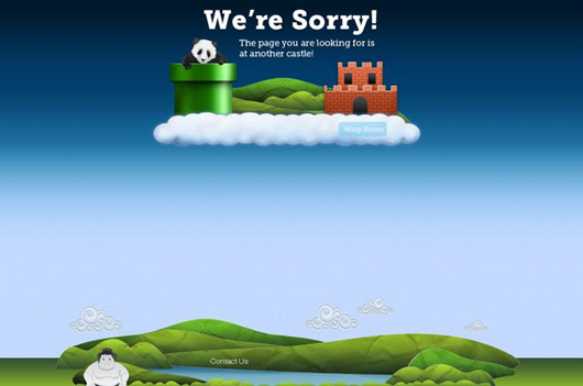 Creative 404 Error Page Designs-2