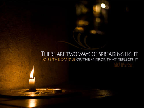 Spreading Light