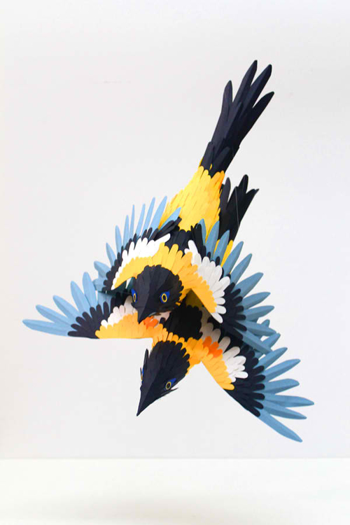 Paper Sculptures 3