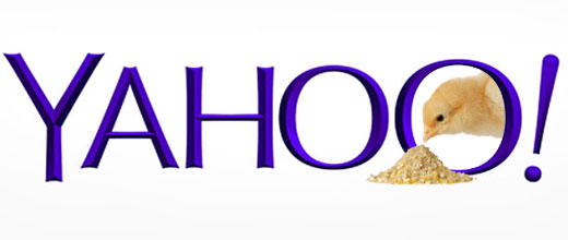Yahoo too Chicken to Change Logo