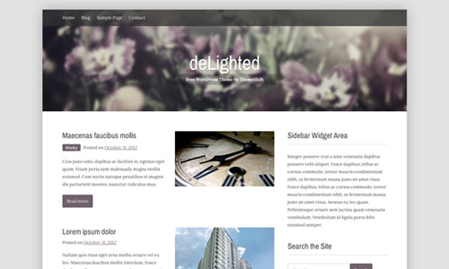 WordPress Theme Delighted