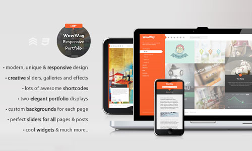 WordPress Theme Wowway